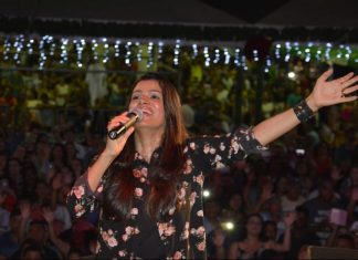 Show da Cantora Damares no Sul do Estado